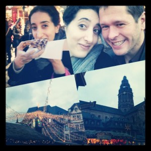 Christmas Market with Hubby