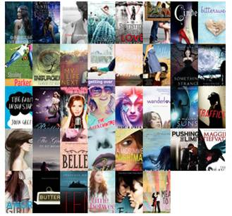 YA books released and read in 2012