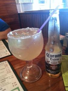 That's one big margarita.