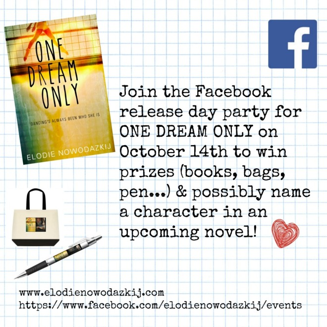 Ad for the FB release day party