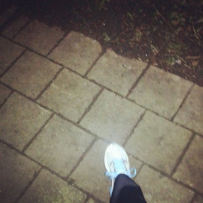 Getting into the habit of jogging early (5 a.m.) at least twice a week (should get back into it :P)...