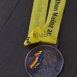 Hubby half marathon