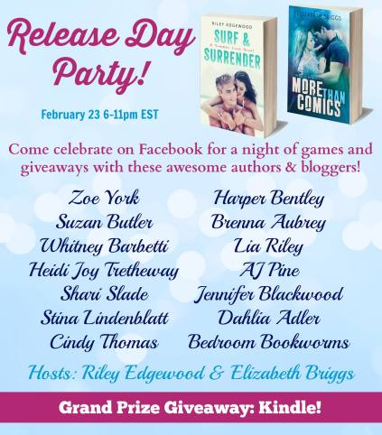 Release Day Party